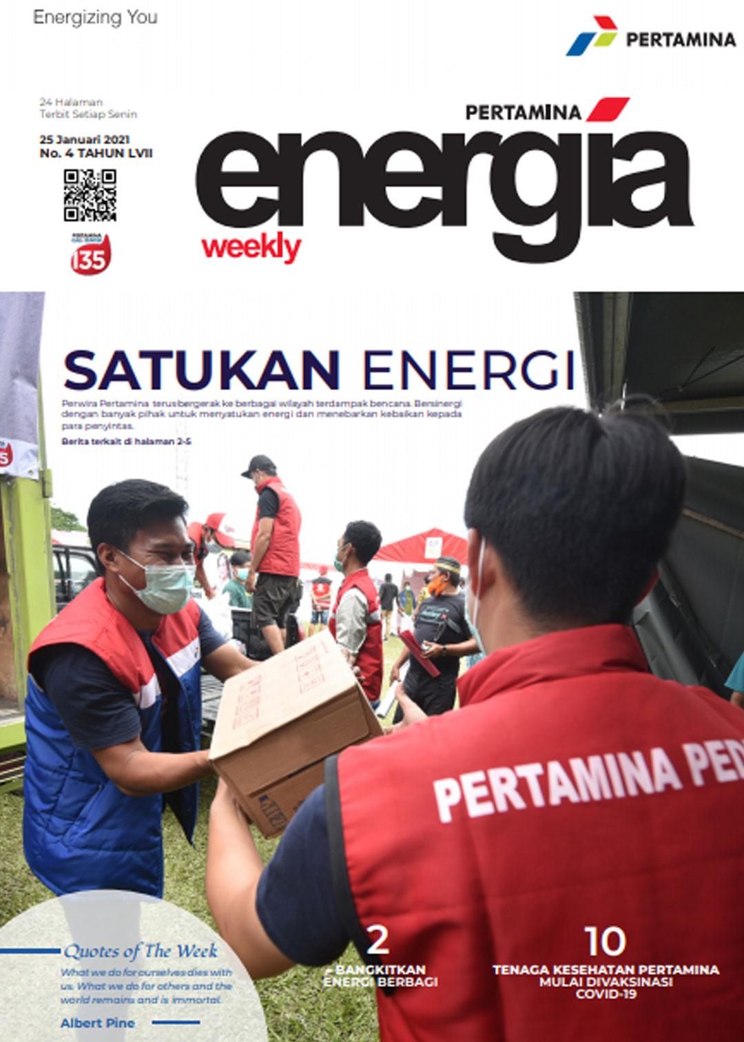 Energia Weekly 4th Week of January 2021