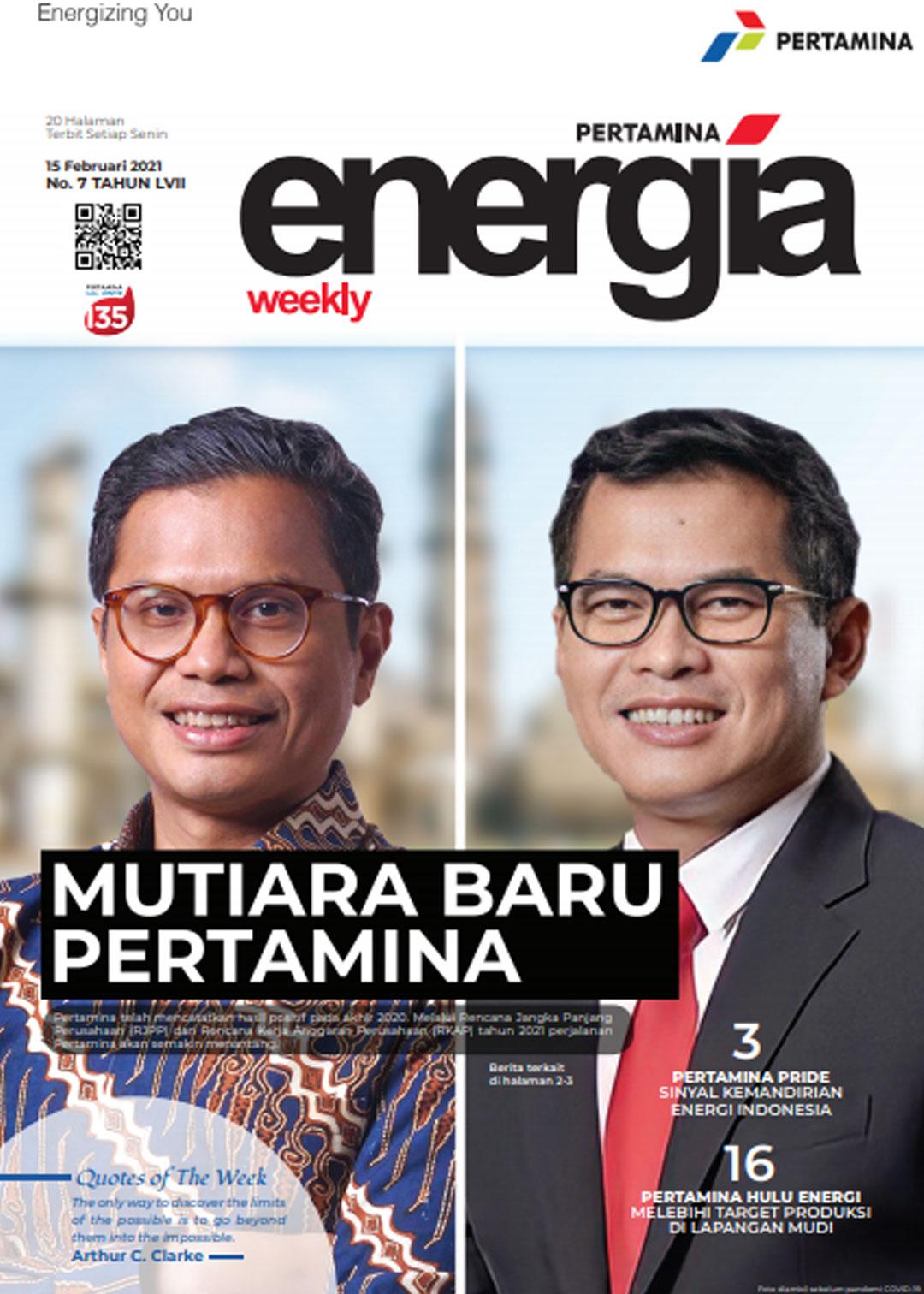 Energia Weekly 3rd Week of February 2021