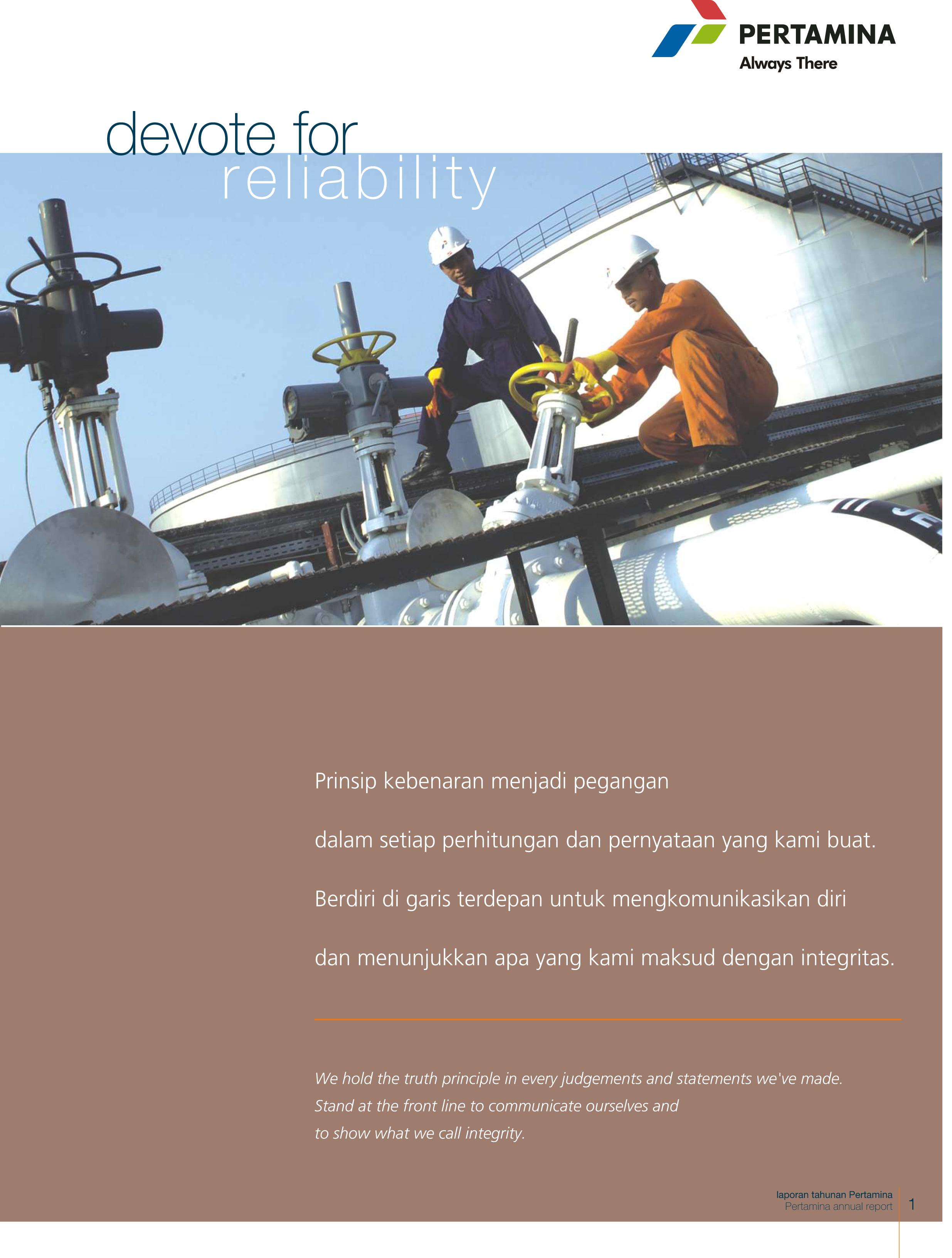 Annual Report Pertamina 2006