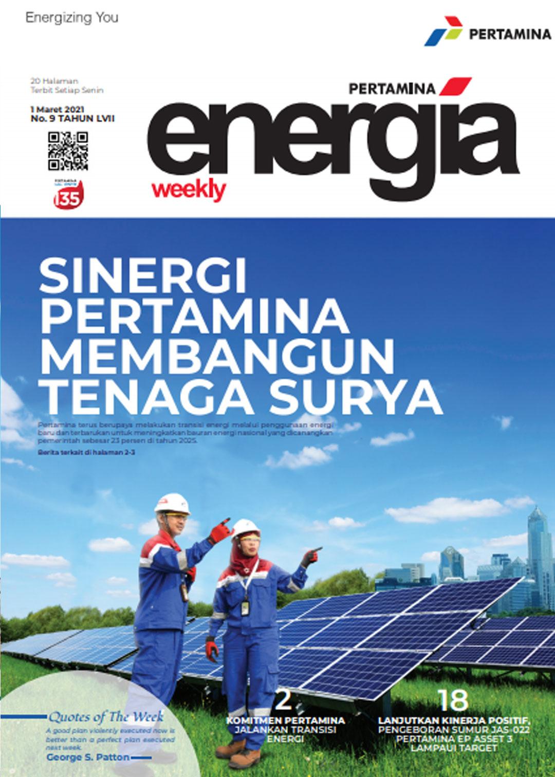 Energia Weekly 1st Week of March 2021