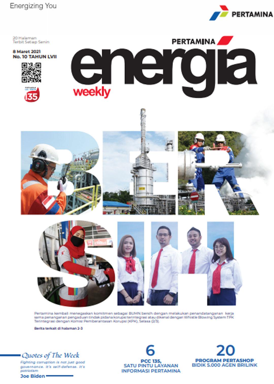 Energia Weekly 2nd Week of March 2021