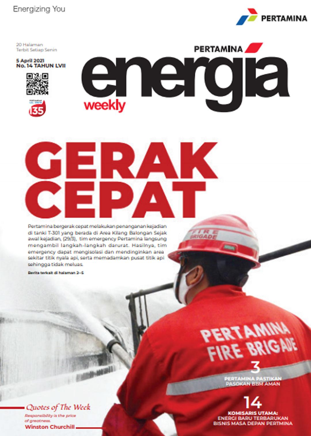 Energia Weekly 1st Week of April 2021