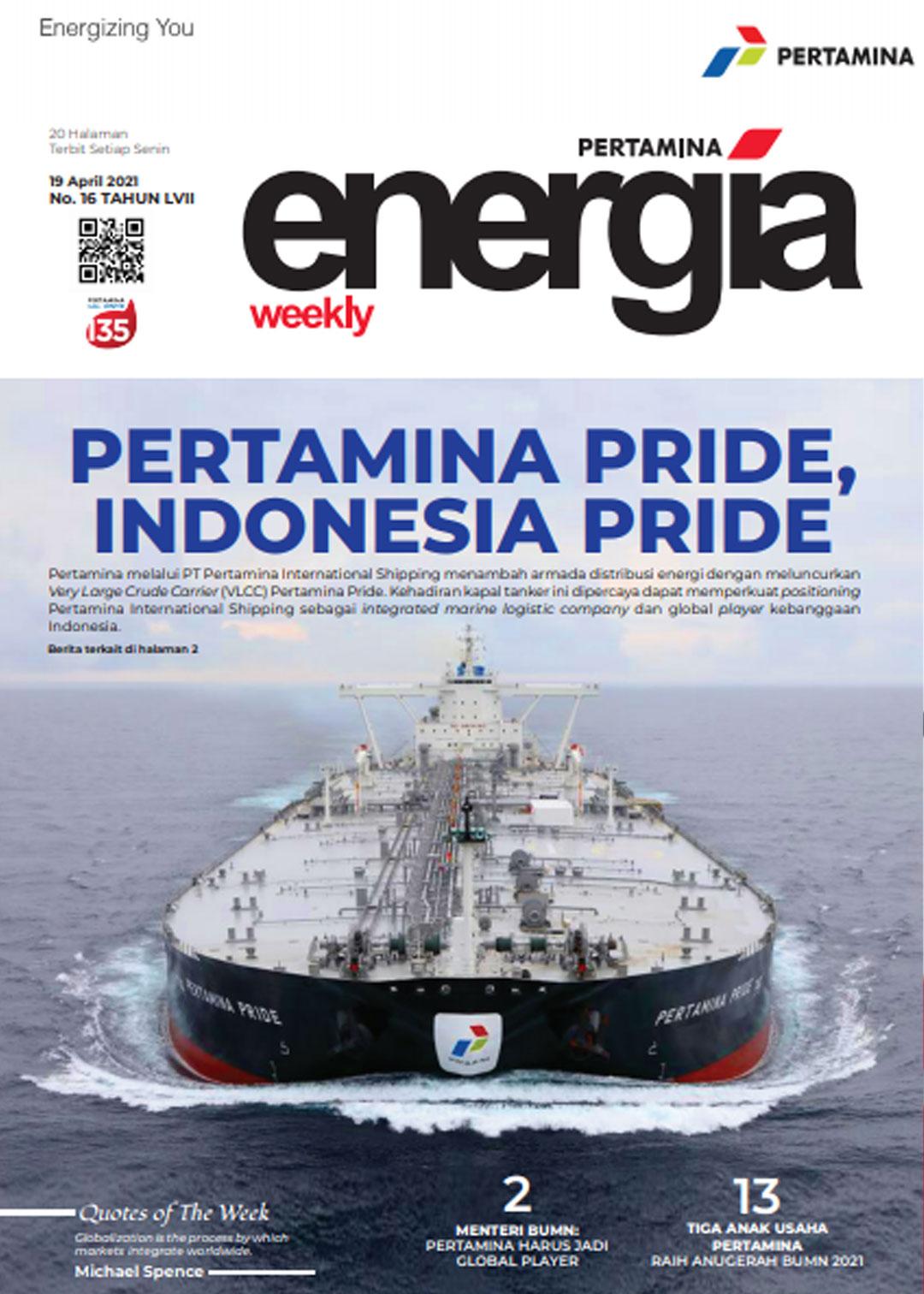 Energia Weekly 3rd Week of April 2021