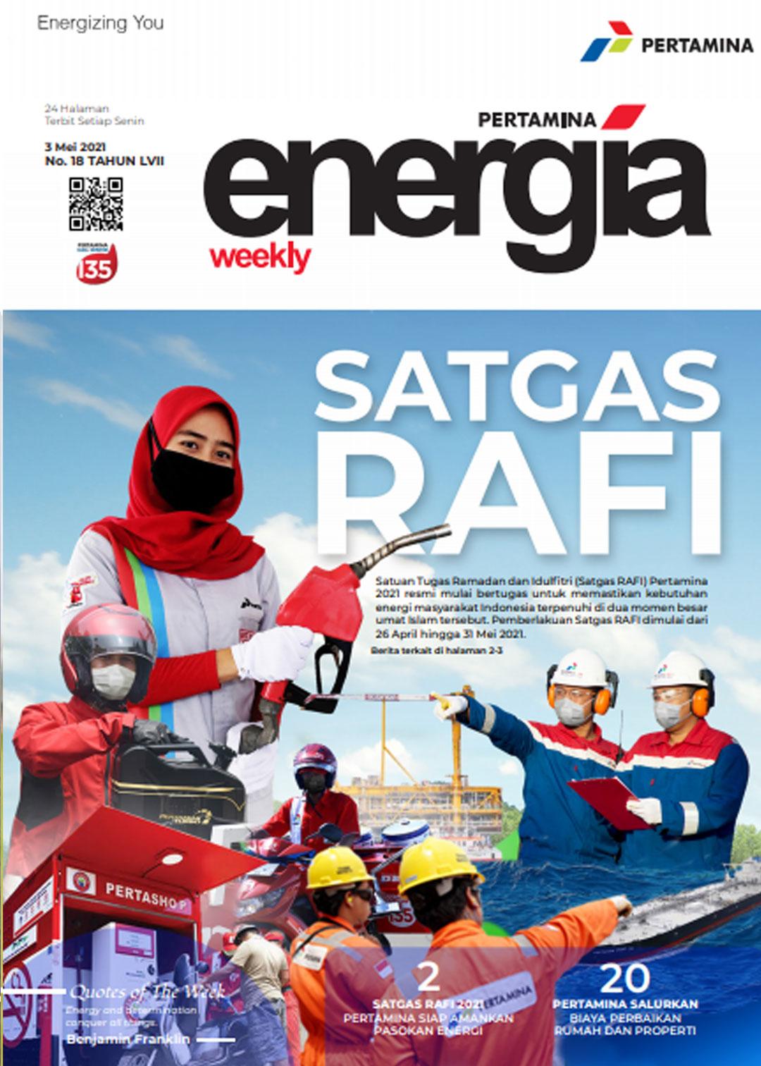 Energia Weekly 1st Week of May 2021