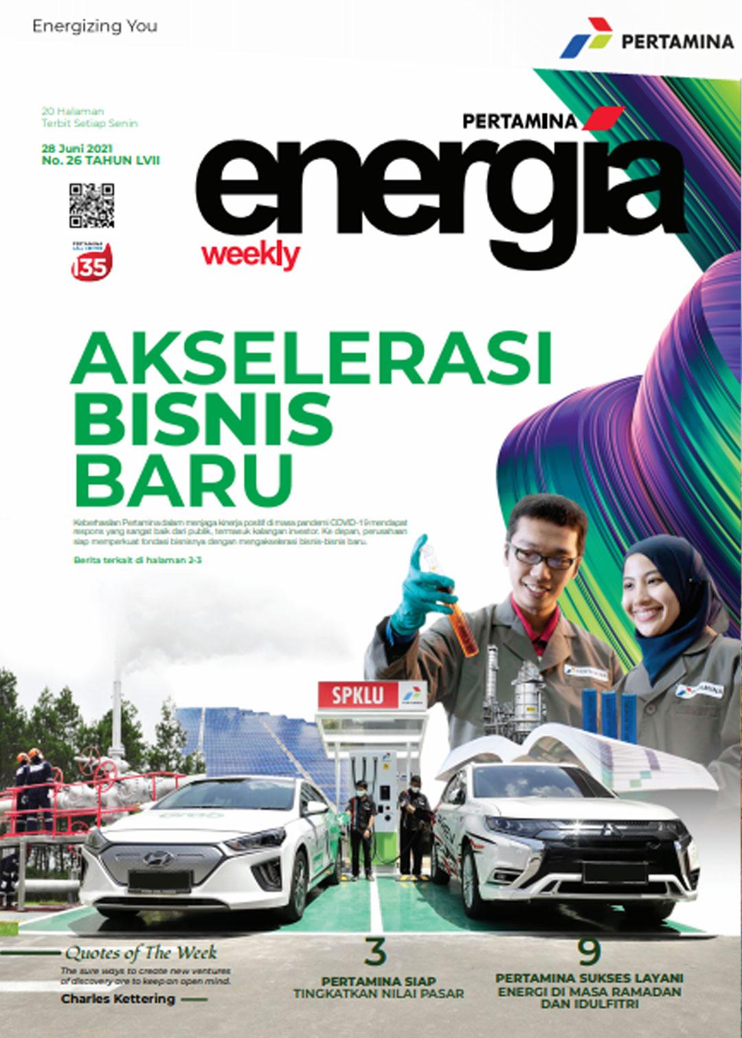 Energia Weekly 4th Week of June 2021