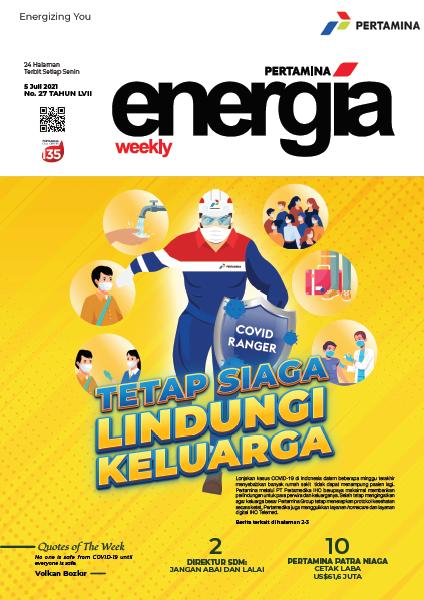 Energia Weekly 1st Week of July 2021