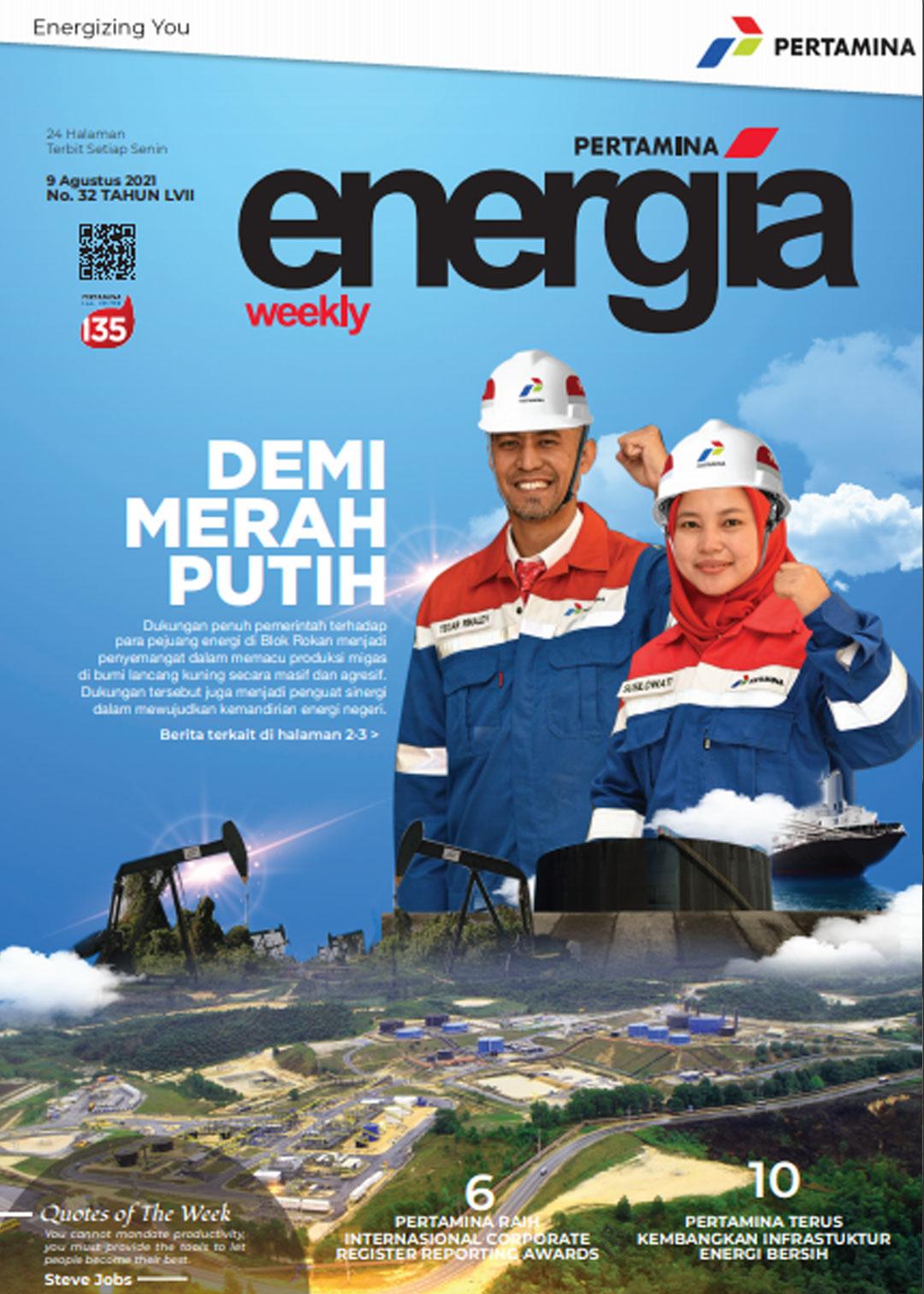 Energia Weekly 3rd Week of Augutst 2021