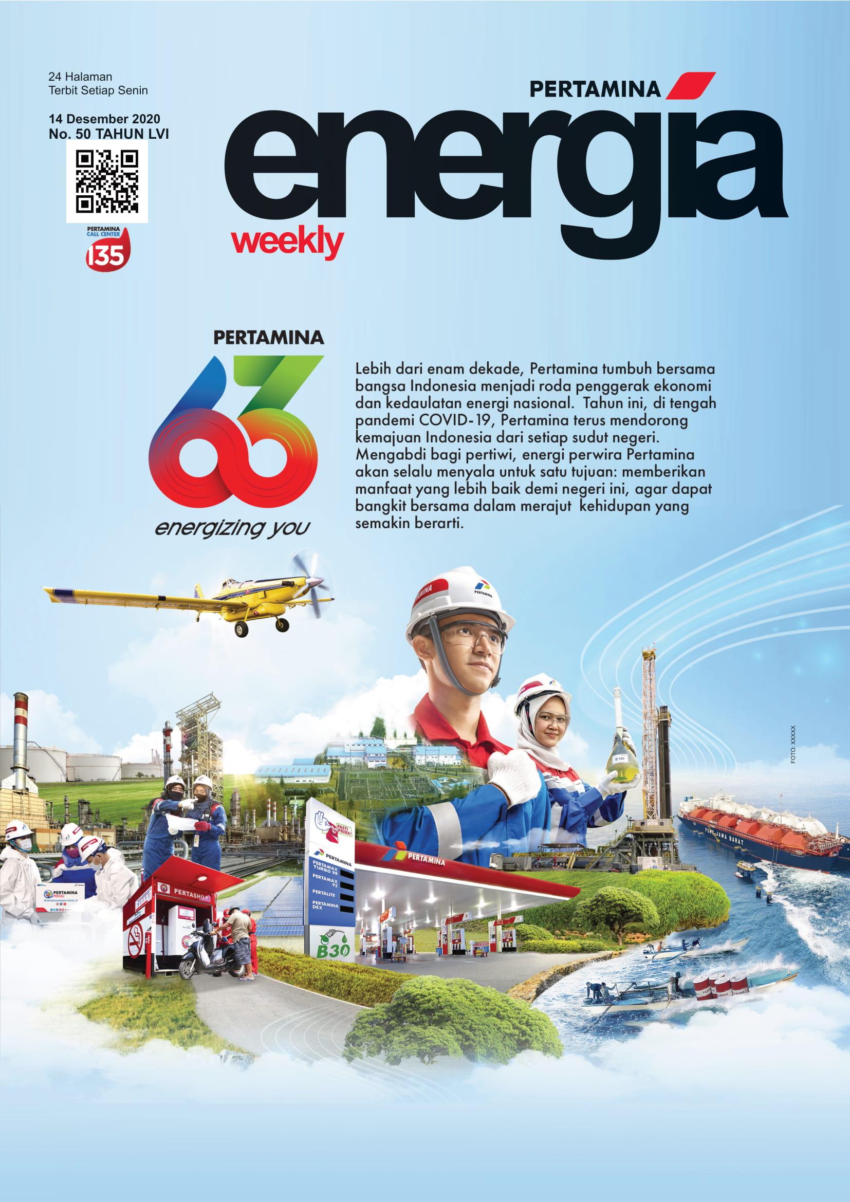 Energia Weekly 3rd Week of December 2020