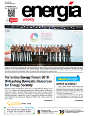 Energia Weekly 1st week of December 2018
