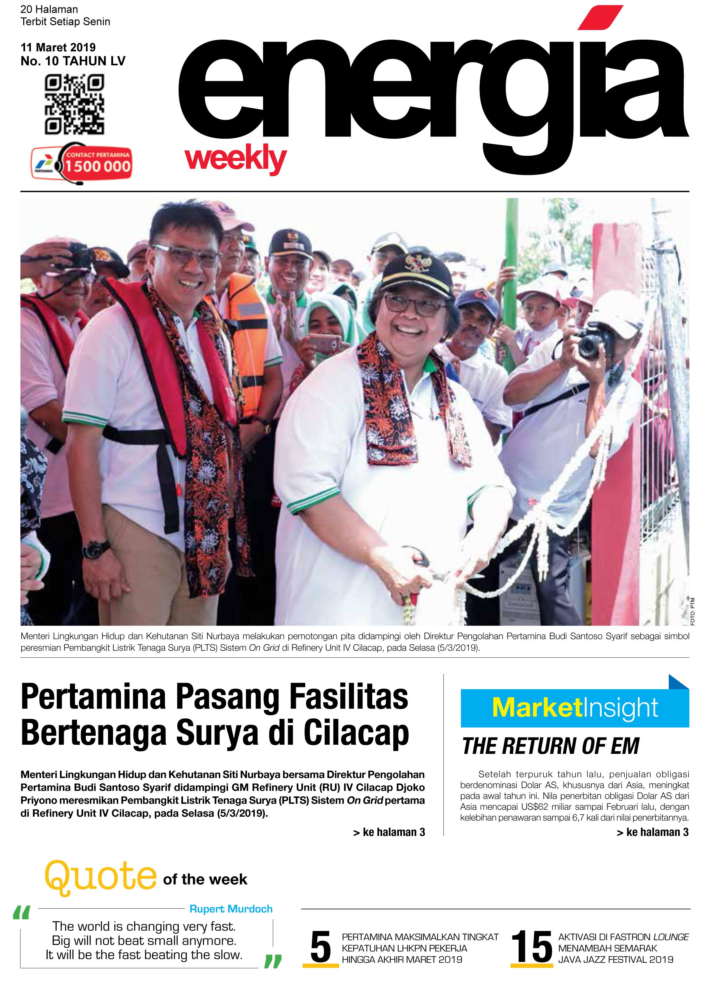Energia Weekly 2nd Week Of March 2019