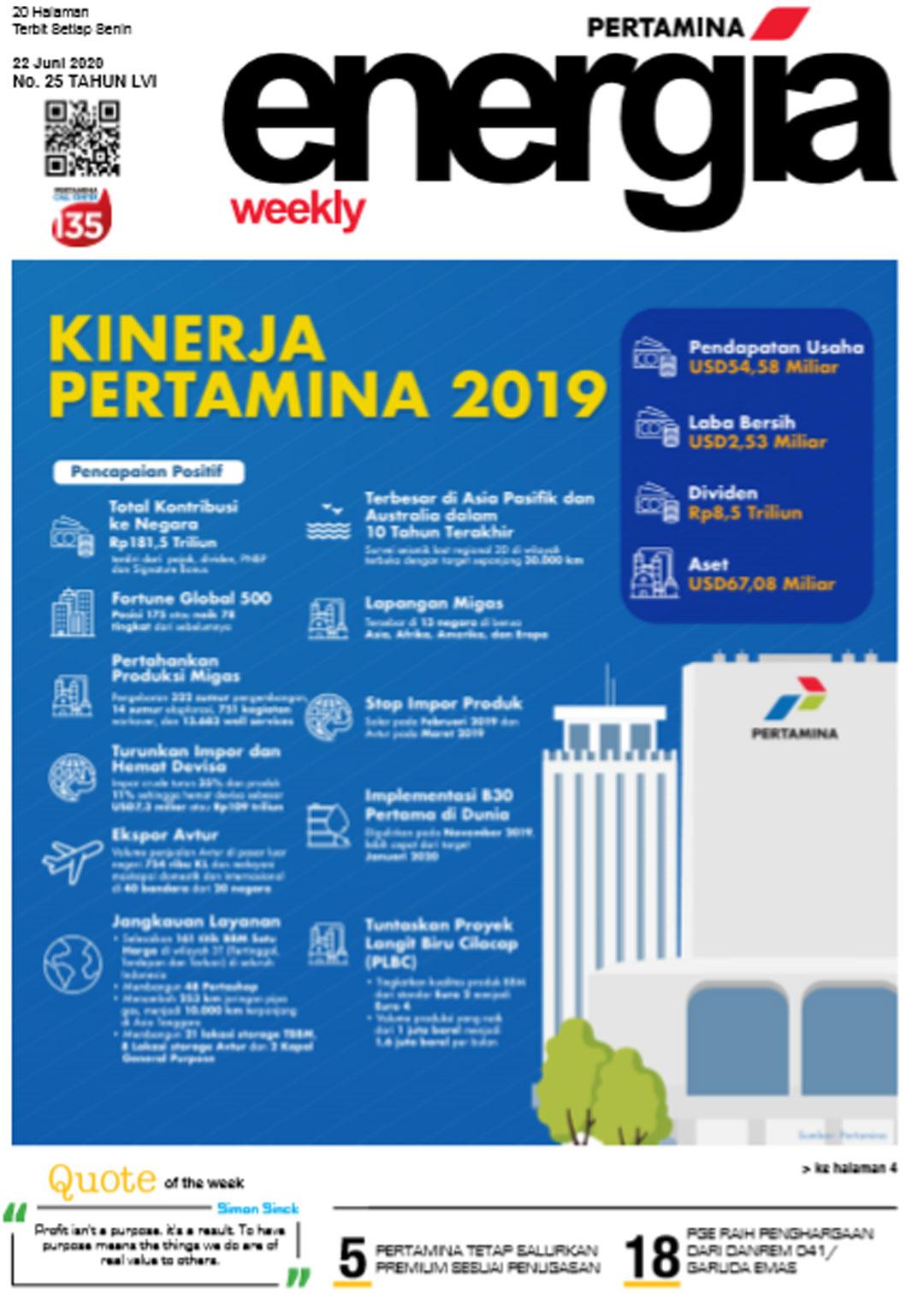 Energia Weekly 4th Week of June 2020