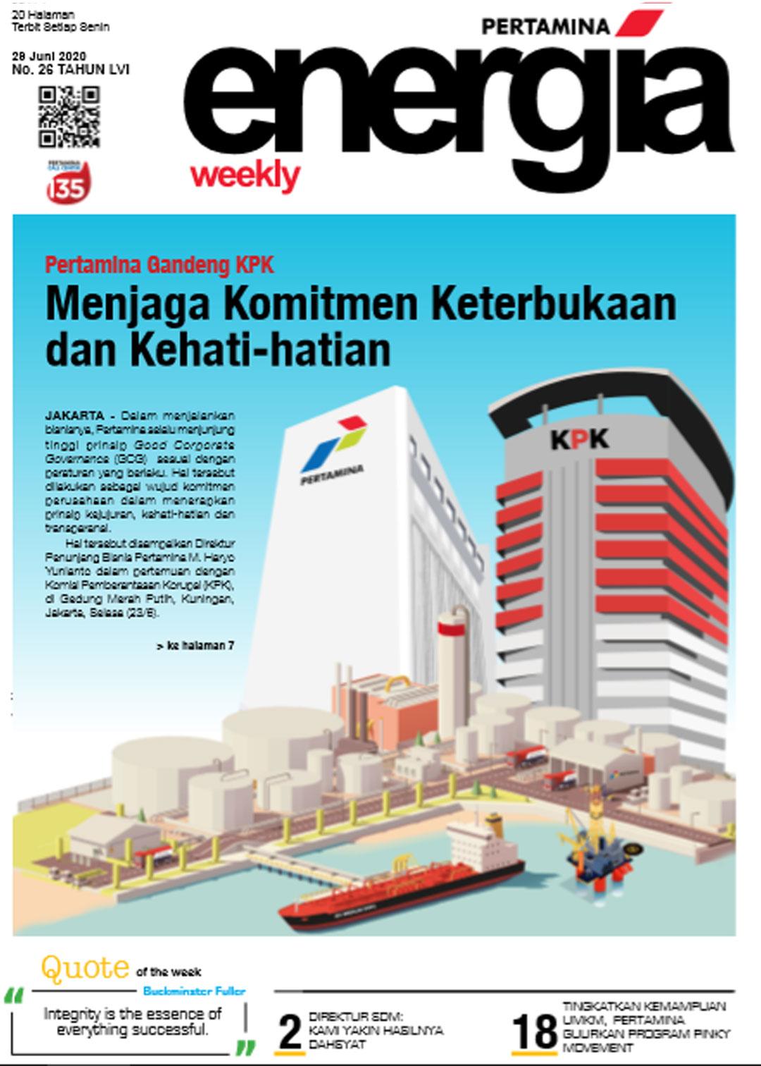 Energia Weekly 5th Week of June 2020