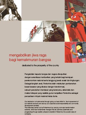 Annual Report Pertamina 2007