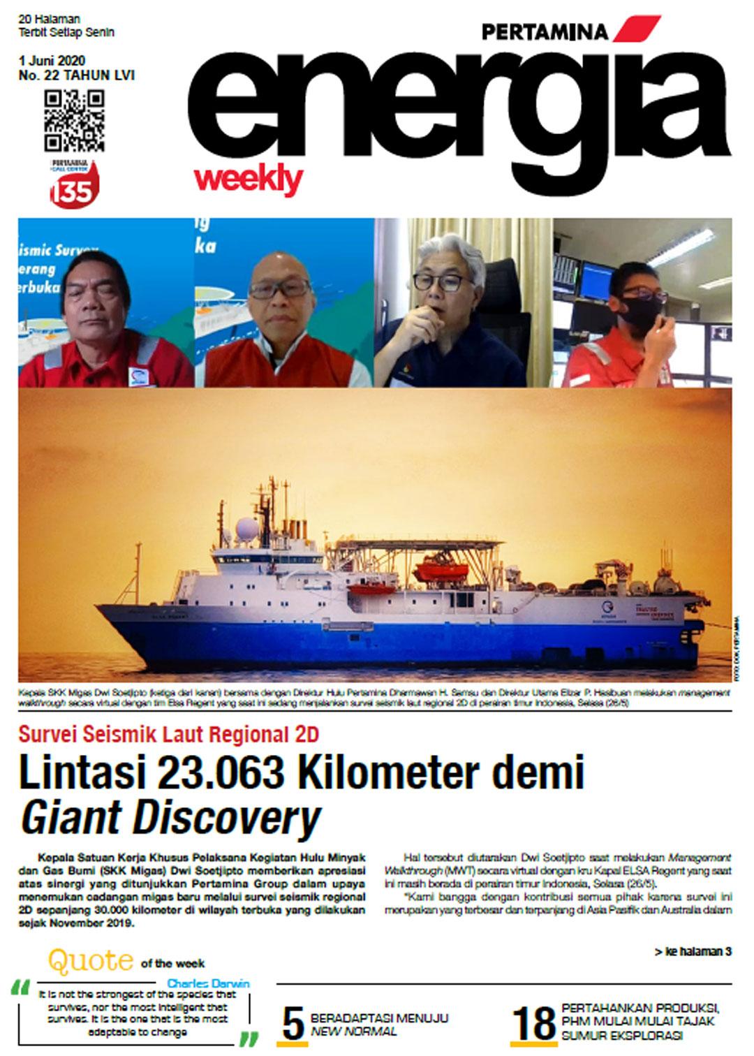 Energia Weekly 1st Week of June 2020