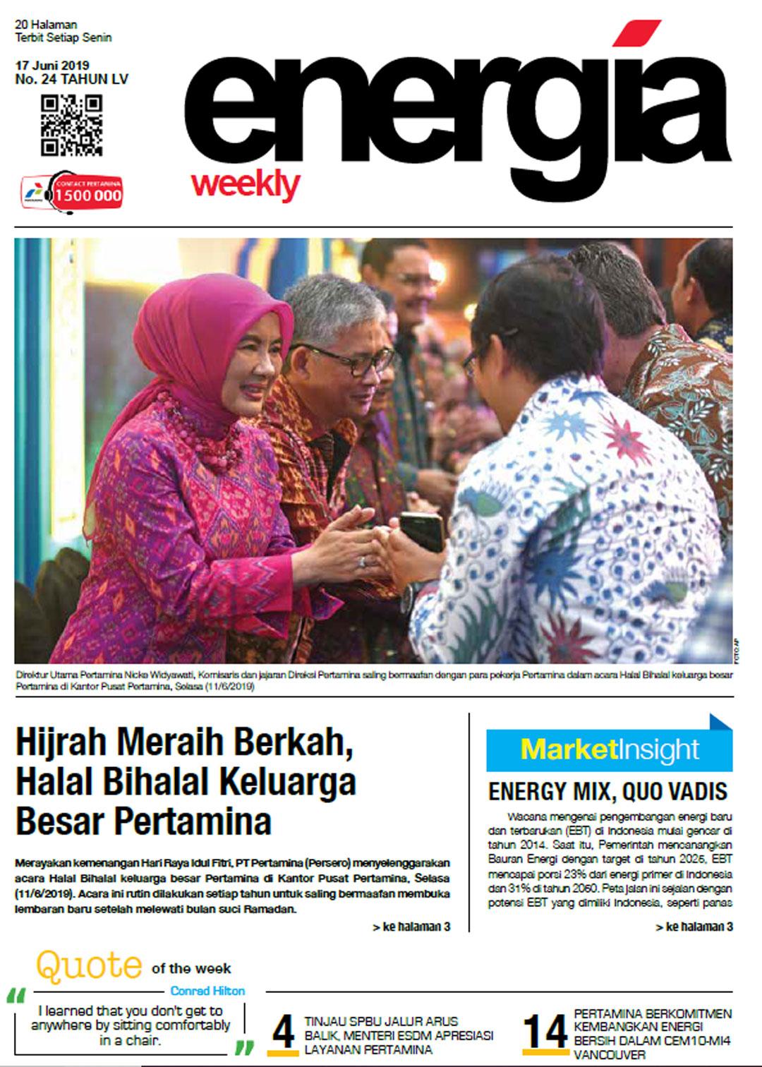 Energia Weekly 3rd Week of June 2019