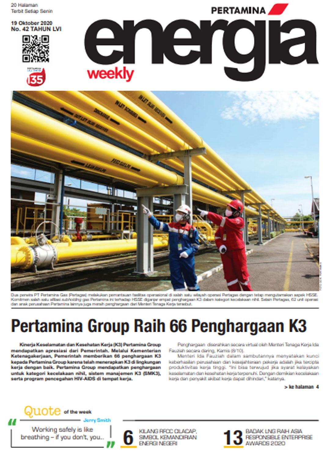 Energia Weekly 3rd Week of October 2020