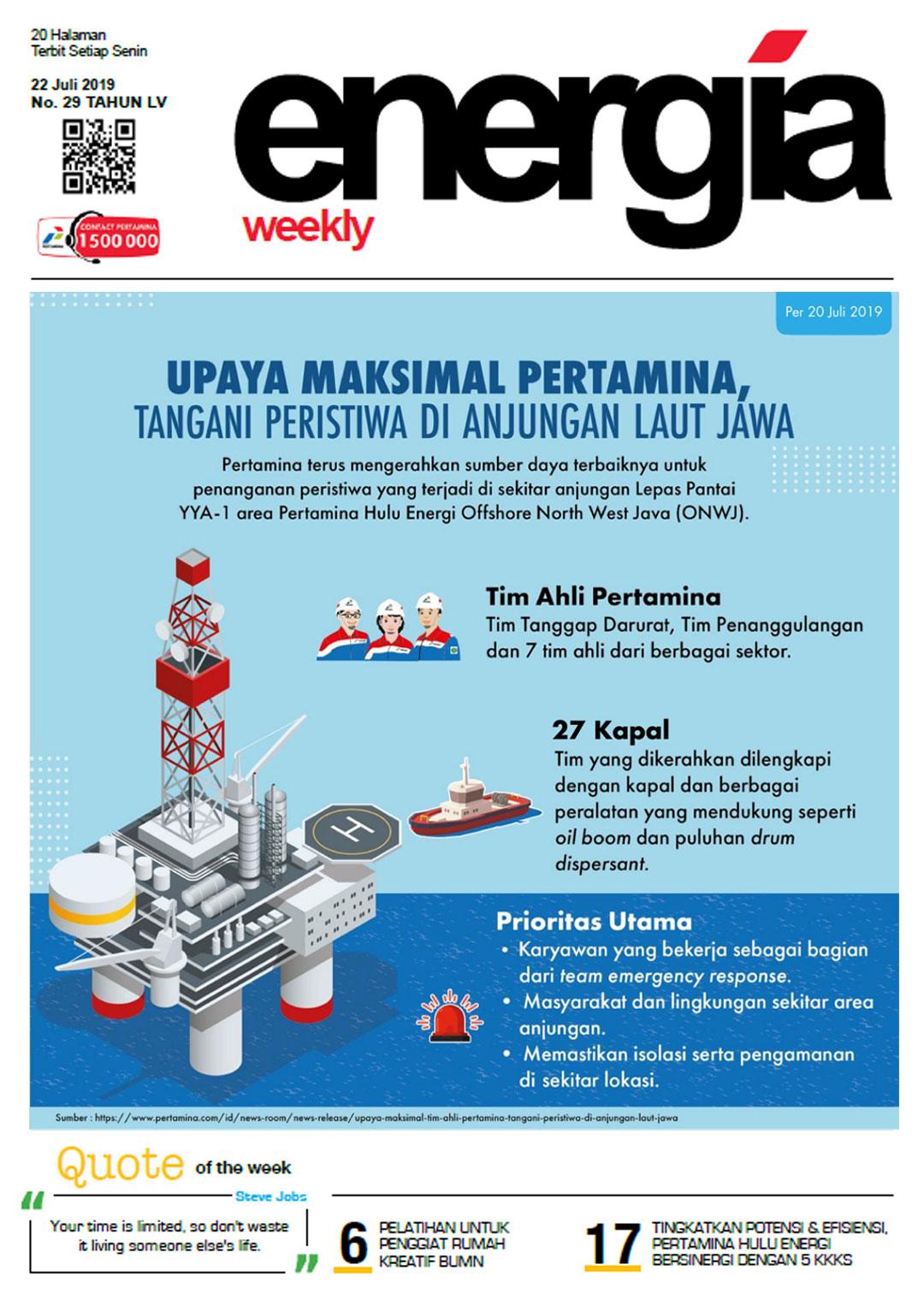 Energia Weekly 4th Week of July 2019