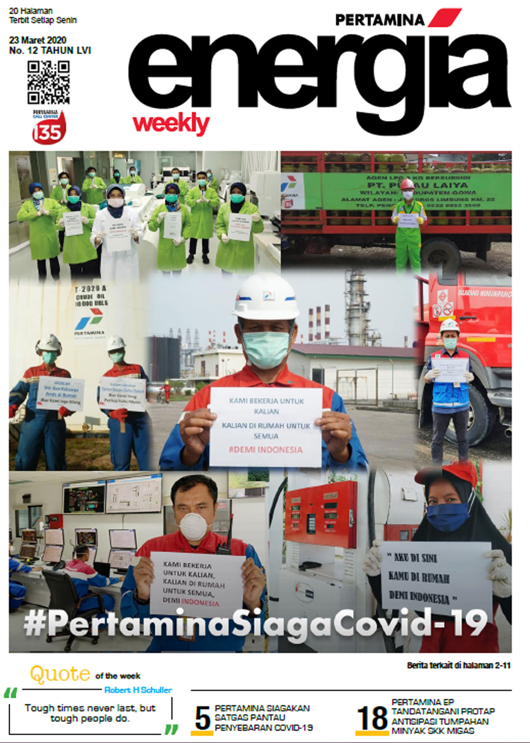 Energia Weekly 4th Week of March 2020