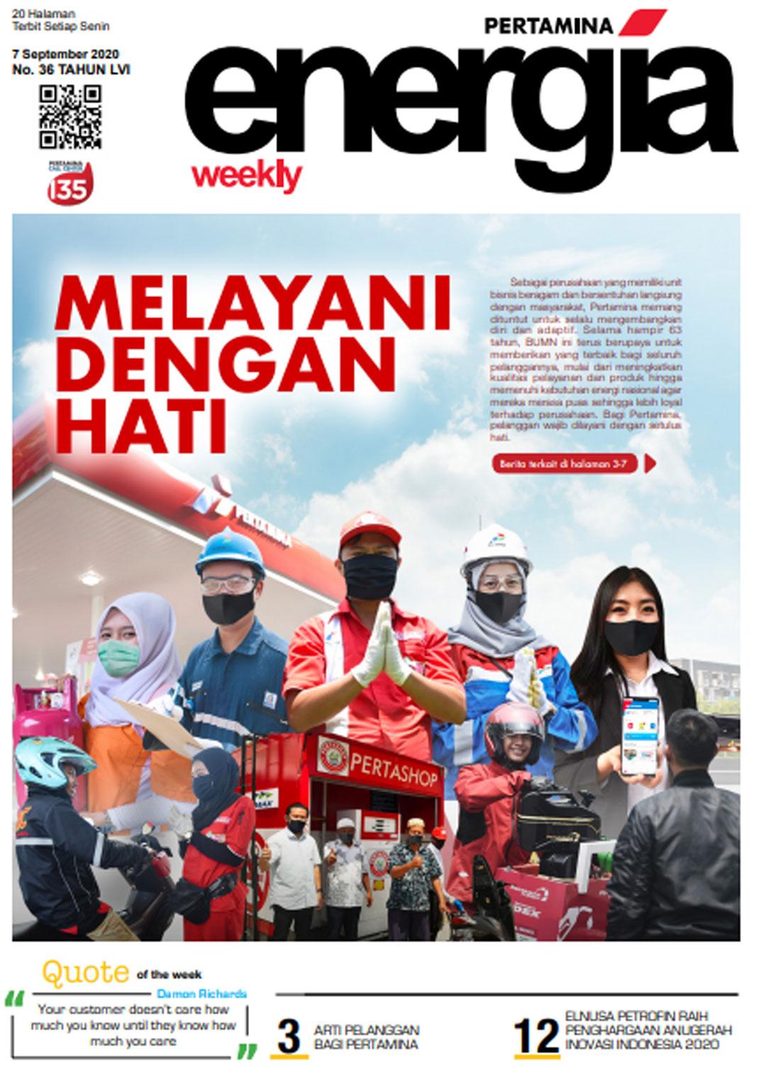 Energia Weekly 1st Week of September 2020