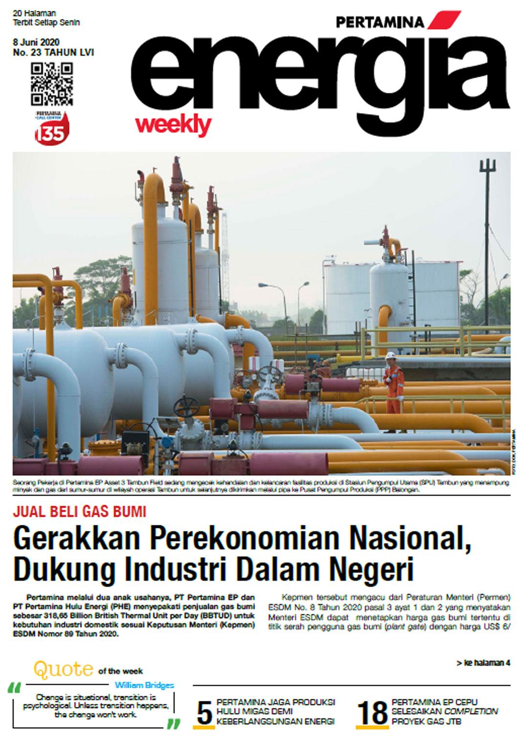 Energia Weekly 2nd Week of June 2020