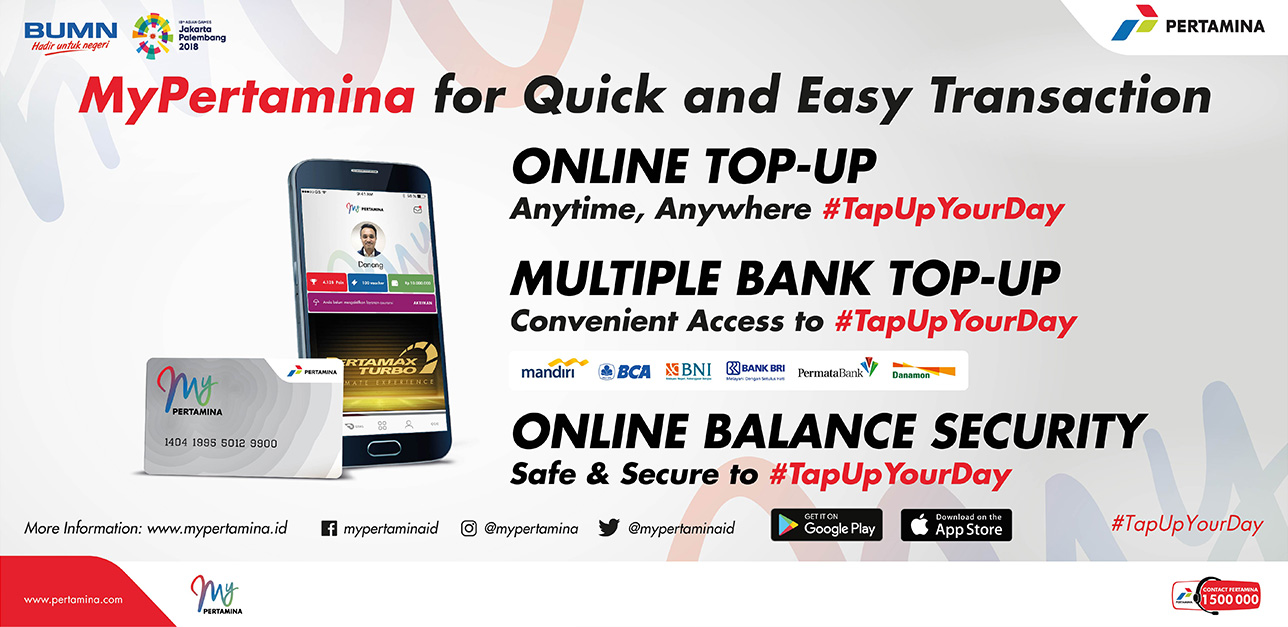 MyPertamina for Quick and Easy Transaction