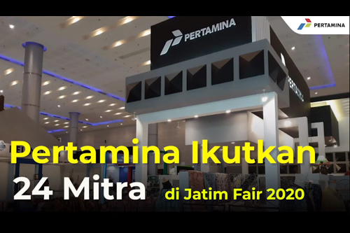 Dukung para pelaku UMKM agar dapat berjuang di tengah pandemi, Pertamina area Jatimbalinus mengikutsertakan 24 Mitra Binaan ke Jatim Fair 2020 yang digelar di Grand City Convention & Exhibition Hall pada 22 Oktober 2020.